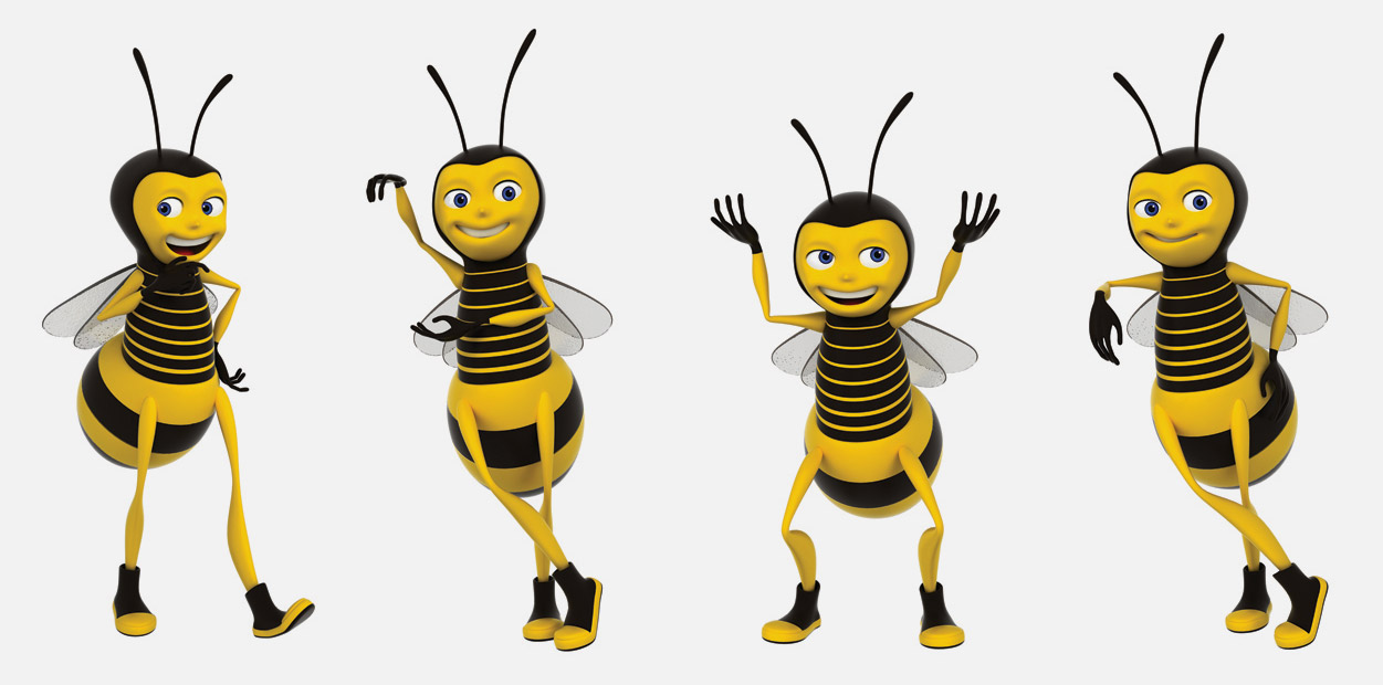 Mascot for BeeWork
